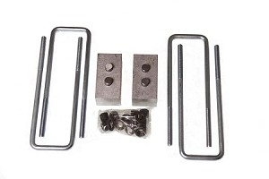 HaloLifts  Rear Blocks and U-Bolts fits your GM 1500