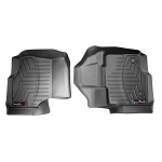 WeatherTech Front FloorLiner DigitalFit Black Pair SuperCab/SuperCrew F-150 2015-2016
